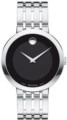 Movado 39mm Esperanza Watch, Silver $995 thestylecure.com