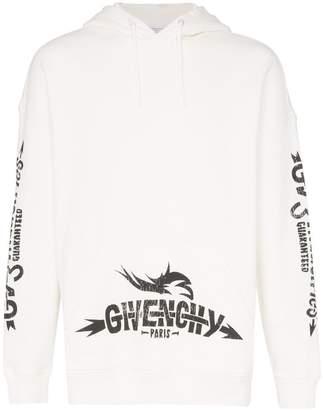 Givenchy tarius logo cotton hoodie
