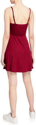 Socialite Fit-and-Flare Skater Dress