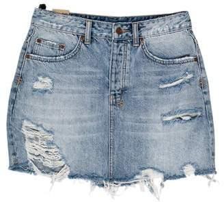 Ksubi Denim Mini Skirt w/ Tags
