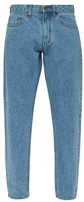 Saturdays NYC Luke Straight Fit Jeans - Mens - Light Blue