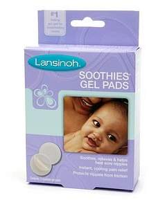 Lansinoh Soothies Gel Pads 2 ct (Quantity of 3)