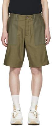 Rag & Bone Green Field Shorts
