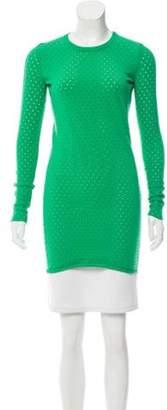 Acne Studios Marx Holes Dress green Marx Holes Dress