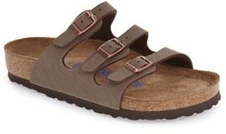 Women's Birkenstock 'Florida Birkibuc' Soft Footbed Sandal $99.95 thestylecure.com