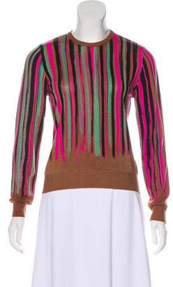 Gianni Versace Printed Knit Sweater