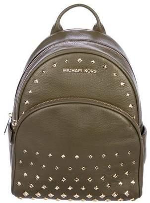 MICHAEL Michael Kors Embellished Leather Backpack