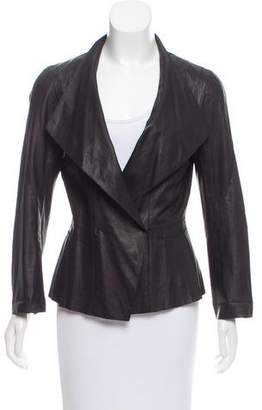 Sylvie Schimmel Lightweight Leather Jacket