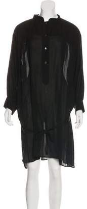 Ann Demeulemeester Knee-Length Button-Up Dress
