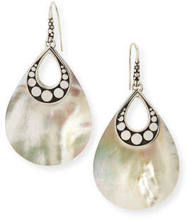 John Hardy Dot Mother-of-Pearl Drop Earrings