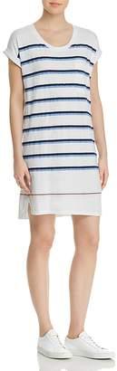 Sundry Striped T-Shirt Dress