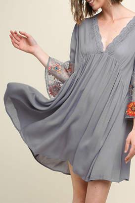 Umgee USA Babydoll Shift Dress