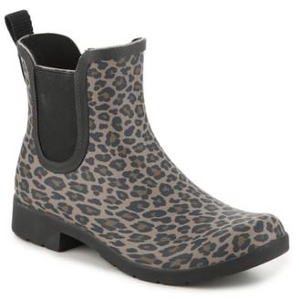Chooka Eastlake Leopard Rain Boot