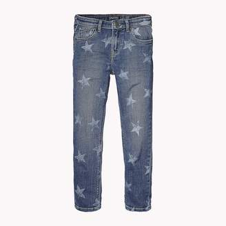 Tommy Hilfiger Faded Star Print Jeans