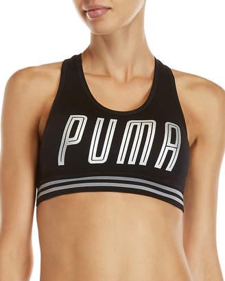 Puma Seamless Hero Logo Low Support Sports Bra