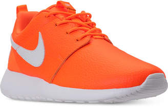 4e396249329a ... Nike Women Roshe One Premium Just Do It Casual Sneakers from Finish Line