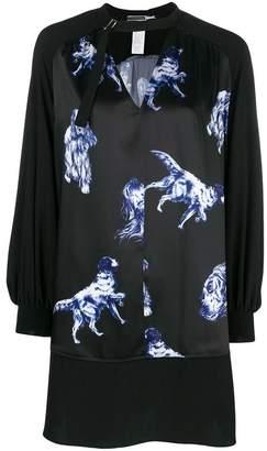 Sportmax Code dog print dress