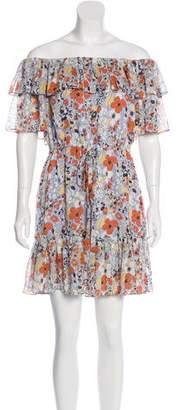 Alexis Floral Print Mini Dress w/ Tags