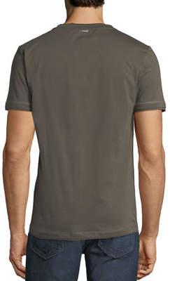 Antony Morato Men's Heart-Size Beaded Jersey T-Shirt