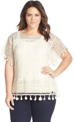 Tart 'Caris' Crochet Lace Top