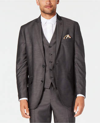 INC International Concepts I.N.C. Men's Classic-Fit Dark Grey Suit Jacket, Created for Macy's