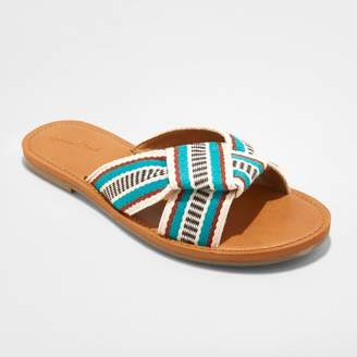 Universal Thread Women's Rylie Knotted Slide Sandals