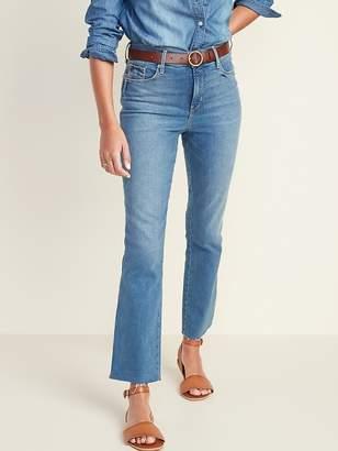 Old Navy High-Rise Secret-Slim Pockets Flare Ankle Jeans for Women