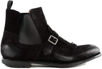 Church's Buckle Detail Ankle Boots