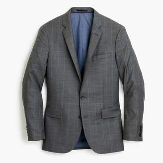 J.Crew Ludlow Slim-fit suit jacket in steel grey American wool