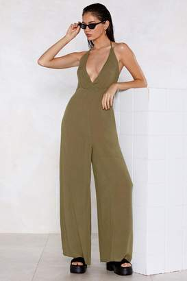 Nasty Gal Let's Take a Wide-Leg Jumpsuit