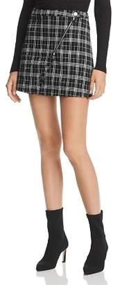 Tiger Mist Twiggy Plaid Mini Skirt