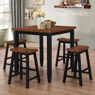 Co Darby Home Simmons Casegoods Ruggerio 5 Piece Counter Height Pub Table Set