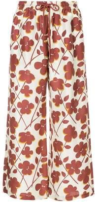 Lee Mathews Texan Rose drawstring trousers