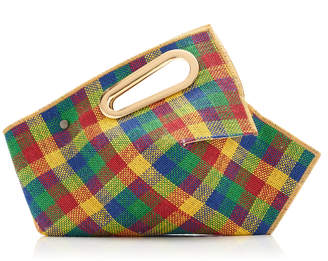 Khaore Athaarah Checked Jute Bag
