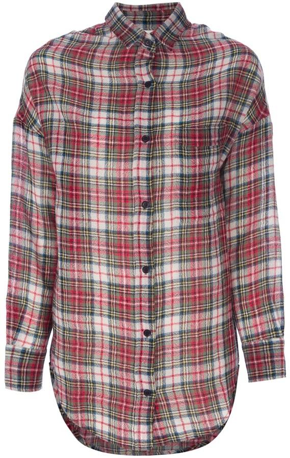 Laurence Dolige Tartan check shirt