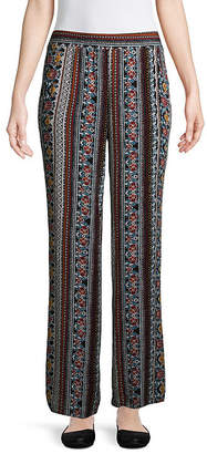 BY AND BY by&by Crepon Lounge Pants-Juniors