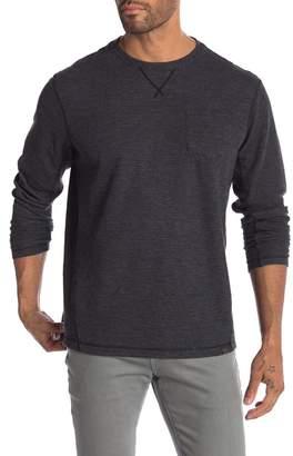 Hawke & Co Performance Waffle Knit Sweater