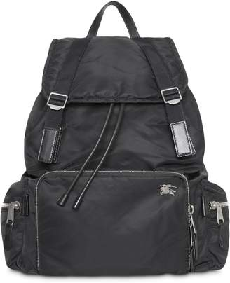 Burberry The Extra Large Rucksack in Aviator Nylon