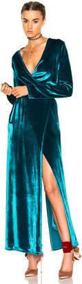 ATTICO Raquel Velvet Dress