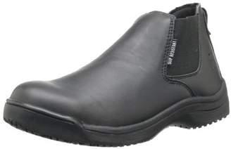 Skidbuster 5073 Men's Leather Slip Resistant Romeo