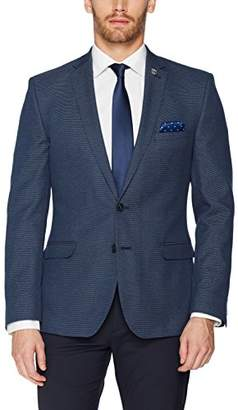 Nick Graham Men's Slim Fit Pindot Blazer