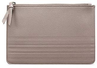 Graphic Image Medium Pebbled Leather Pouch