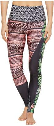 Onzie High Rise Graphic Leggings Women's Casual Pants