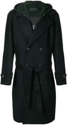 Alexander Wang hooded woolen coat