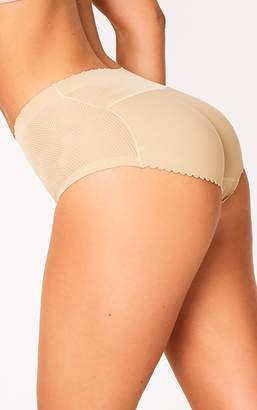 PrettyLittleThing Nude Shapewear Padded Control Pants