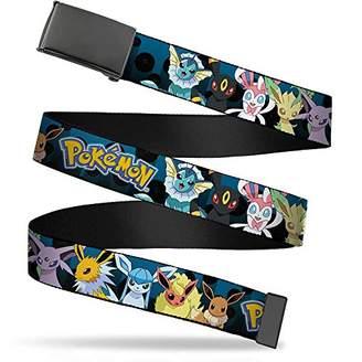 Pokemon Buckle-Down Men's Web Belt