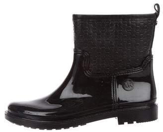 Michael Kors Monogram Rain Boots