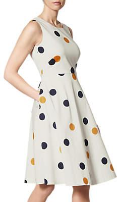LK Bennett L.K.Bennett Jesse Polka Dot Dress, Multi