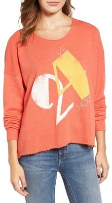 Women's Wildfox Love 24/7 Sweatshirt $108 thestylecure.com