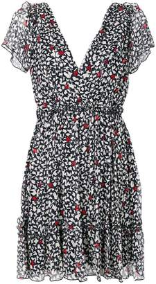 MSGM star patterned dress